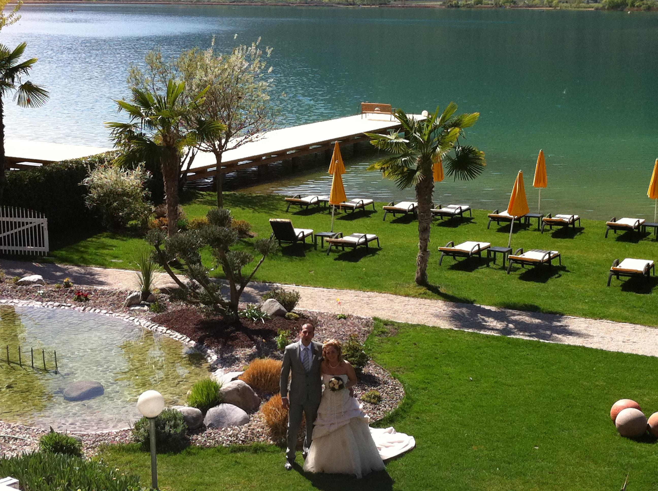 Hochzeit am Kalterer See
