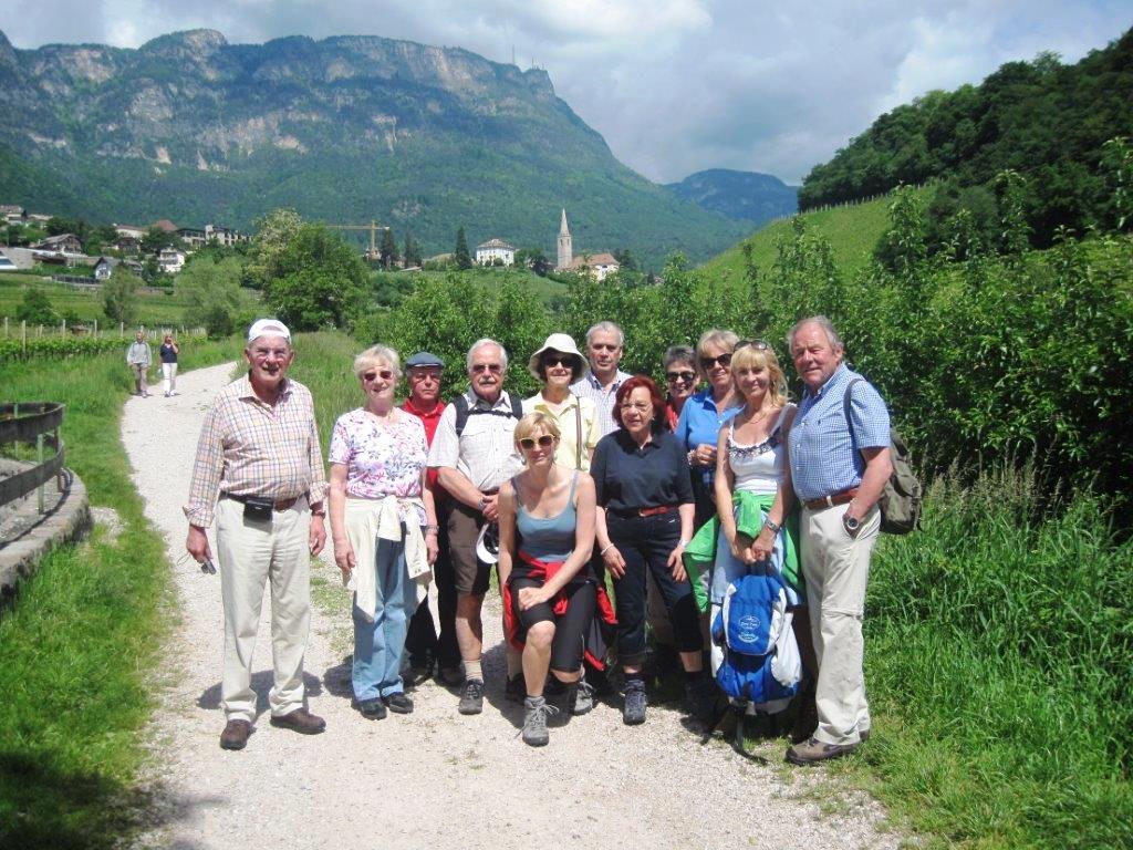 Mit unseren flotten Wanderfreunden