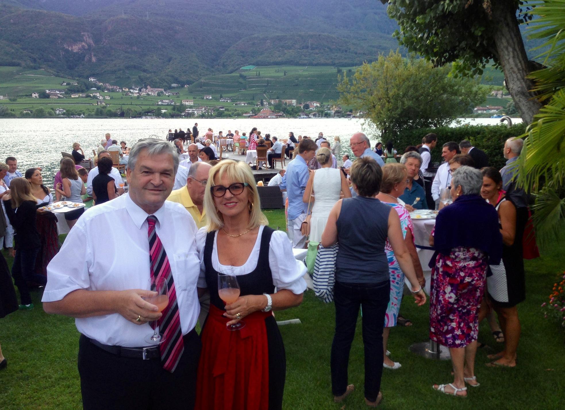 Ihre Gastgeber Herr und Frau De Carli