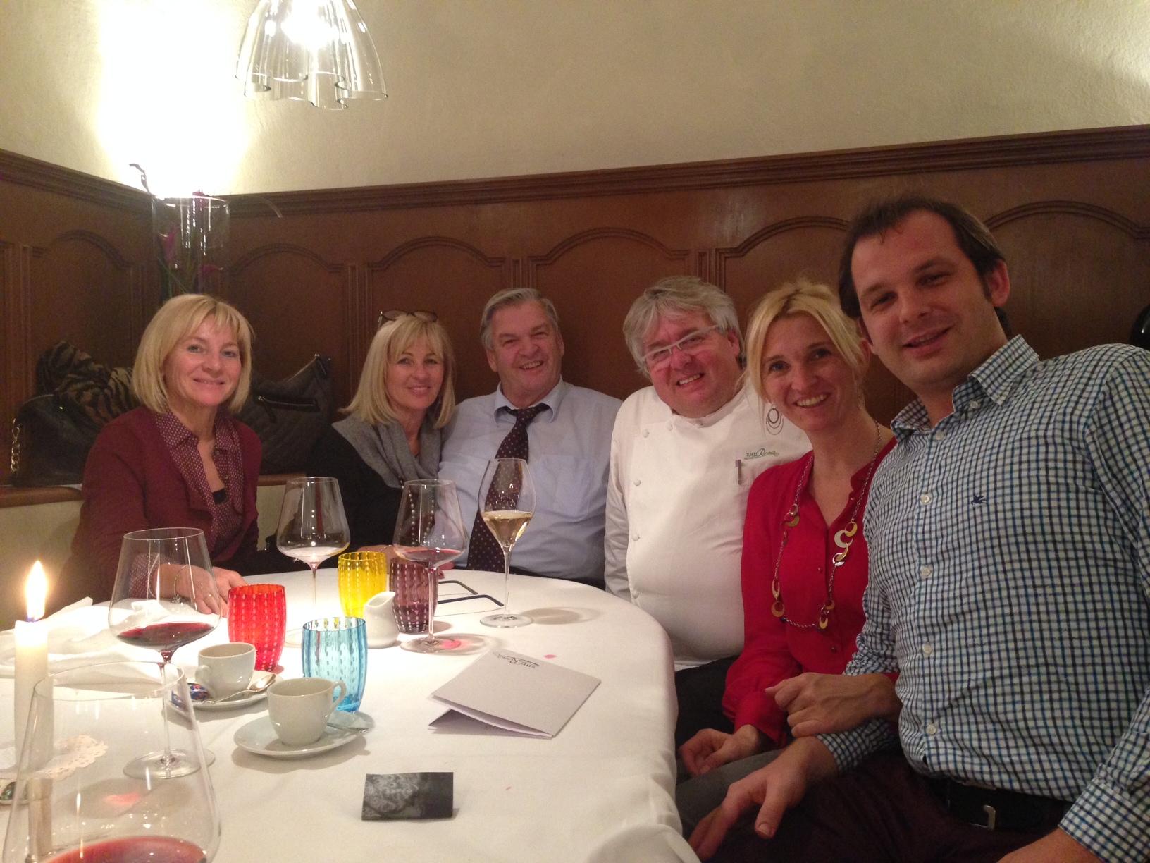 Im Restaurant Zur Rose mit Chef Herbert Hintner