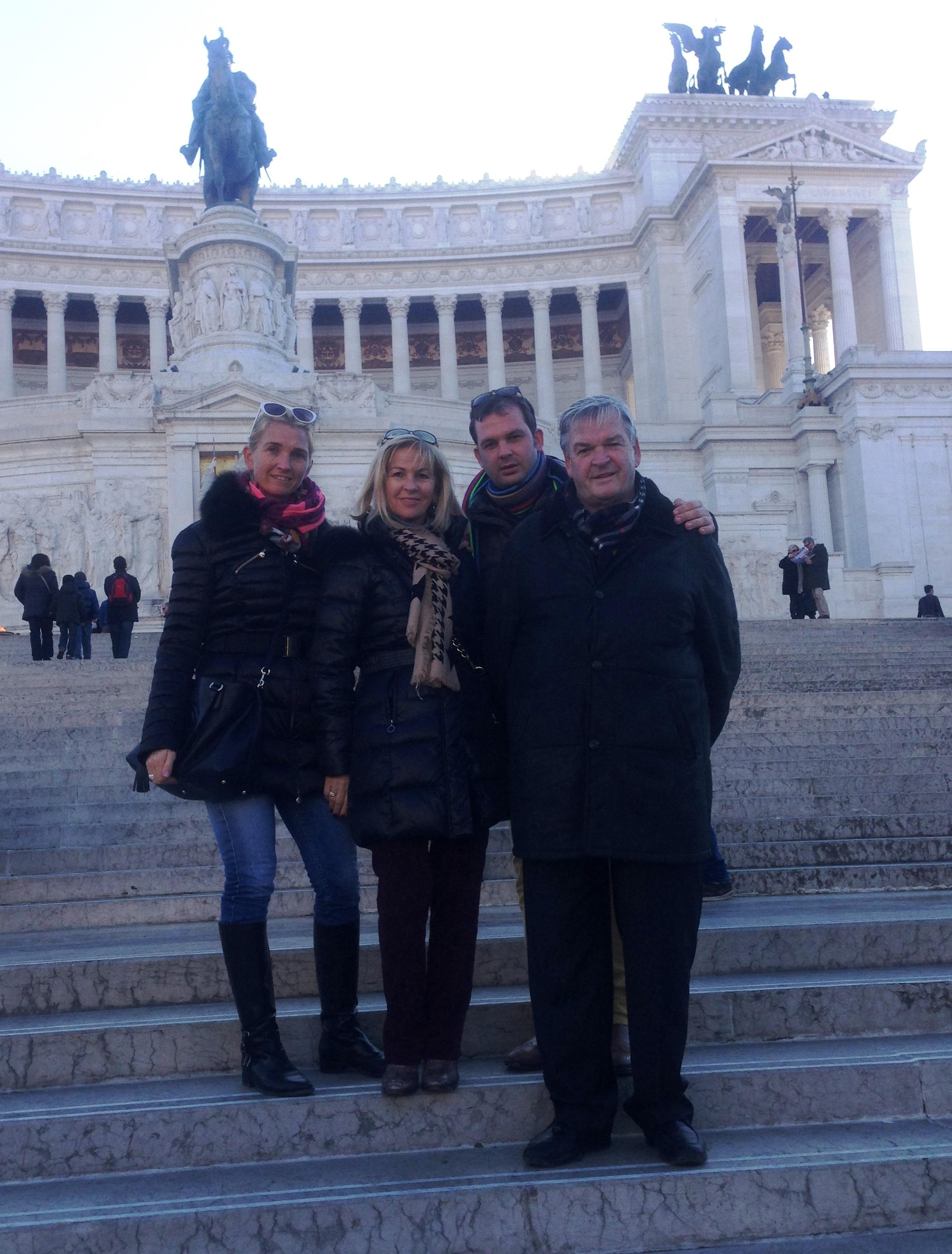 Familienausflug nach ROM, 12.2013