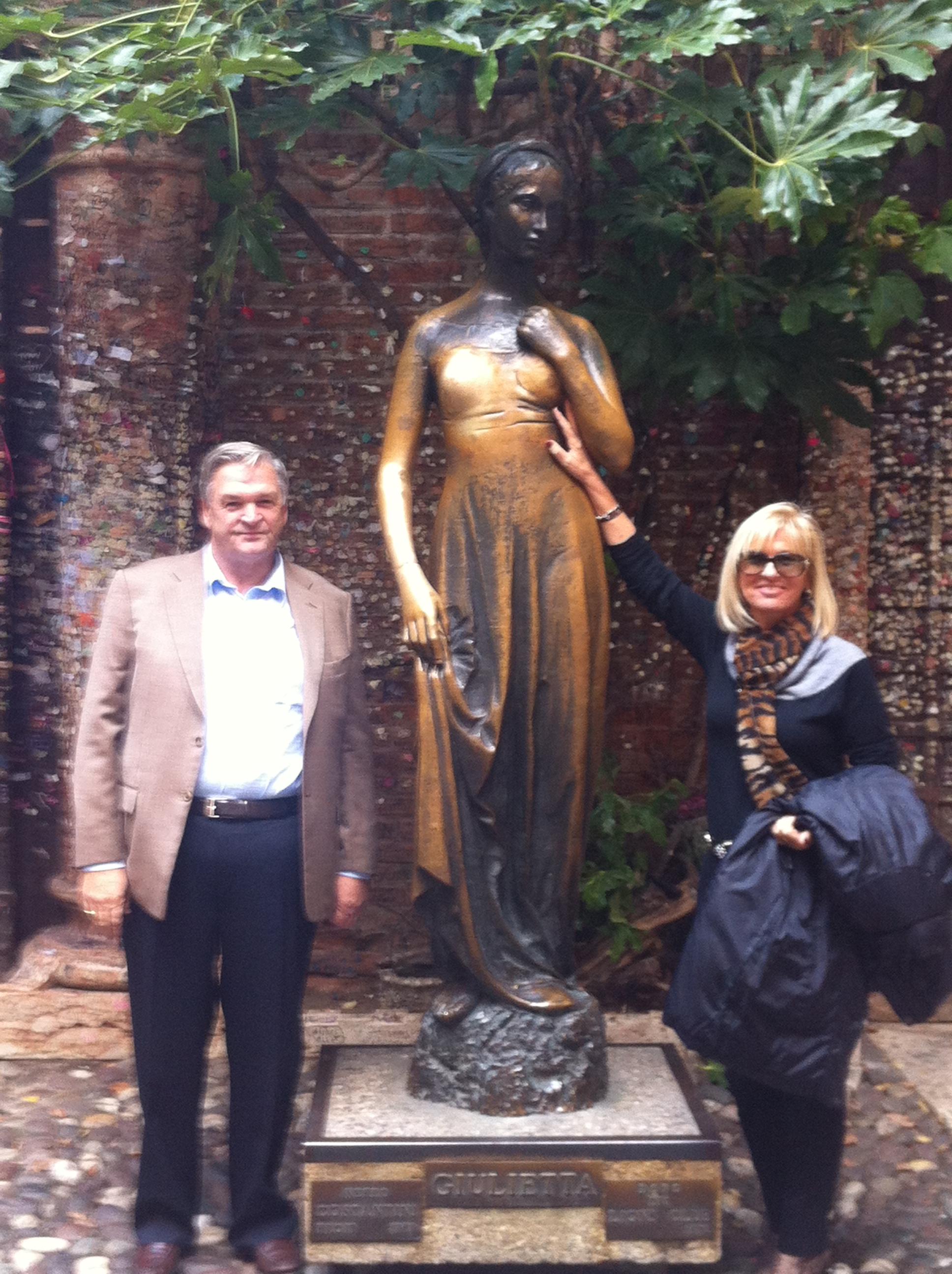 Ein Besuch bei Romeo und Julia in Verona bringt Glück