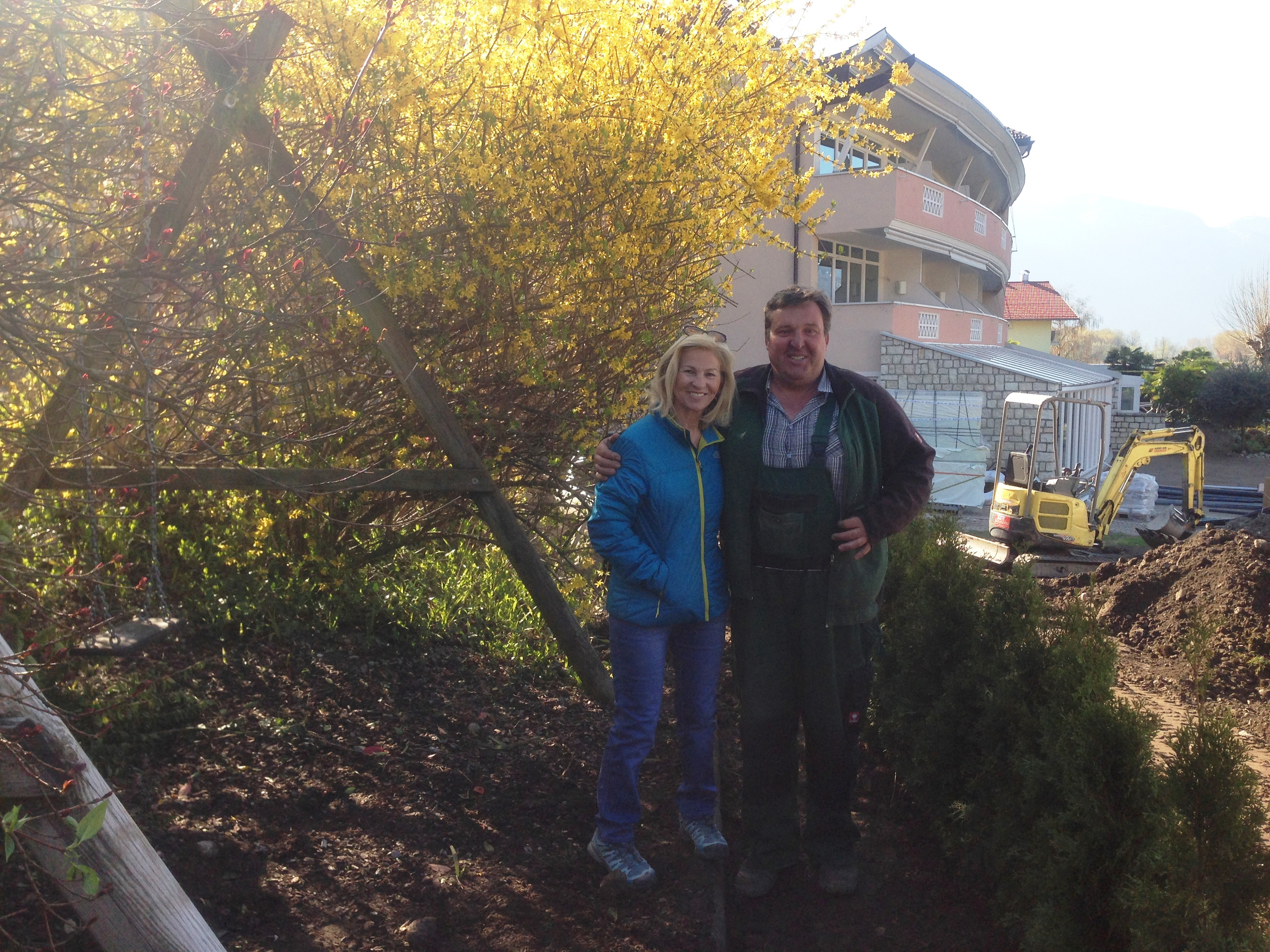 Last but not least... unser Gärtner Anton mit dem grünen Daumen!