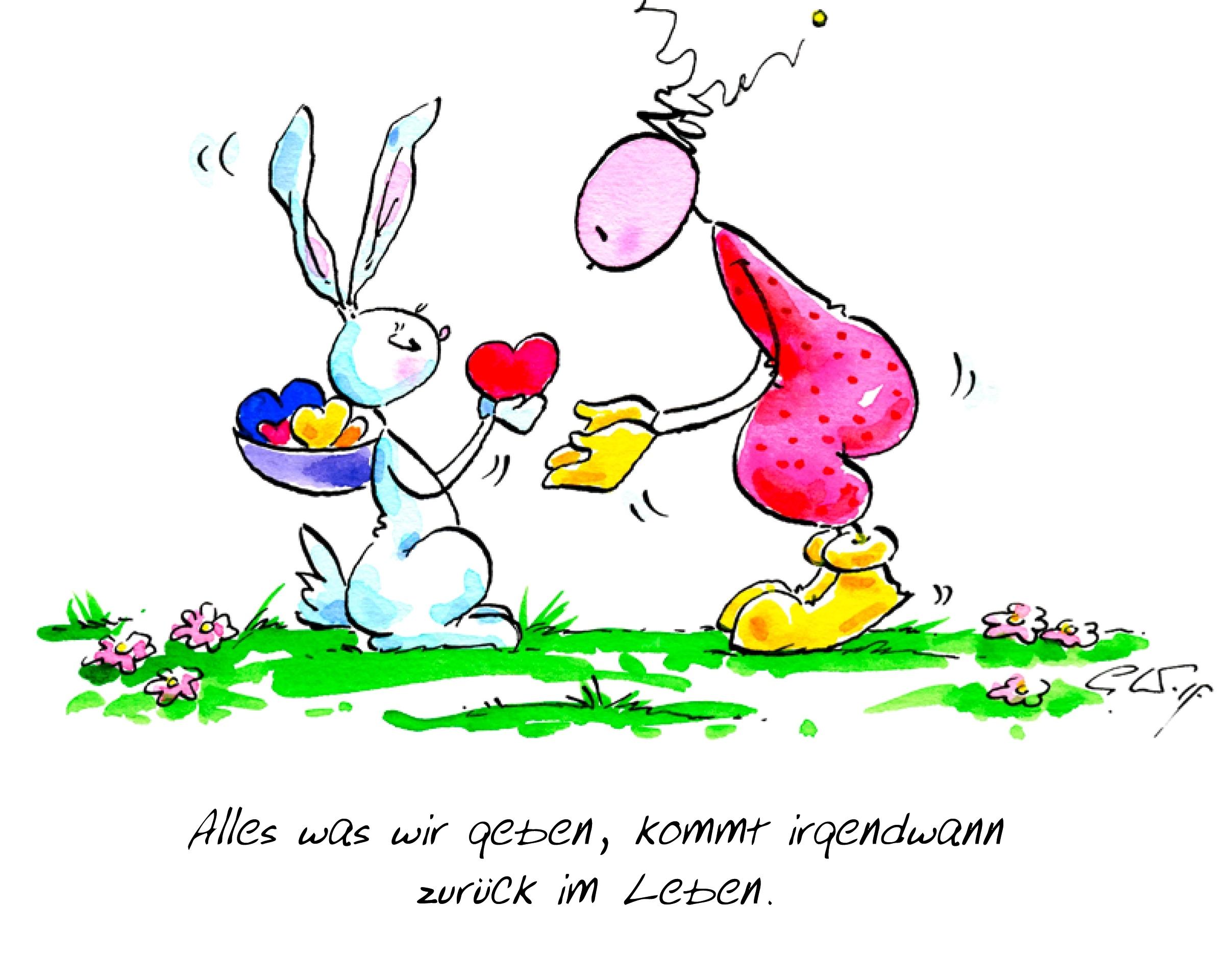 Herzliche Grüße vom  Osterhasen aus Kaltern!