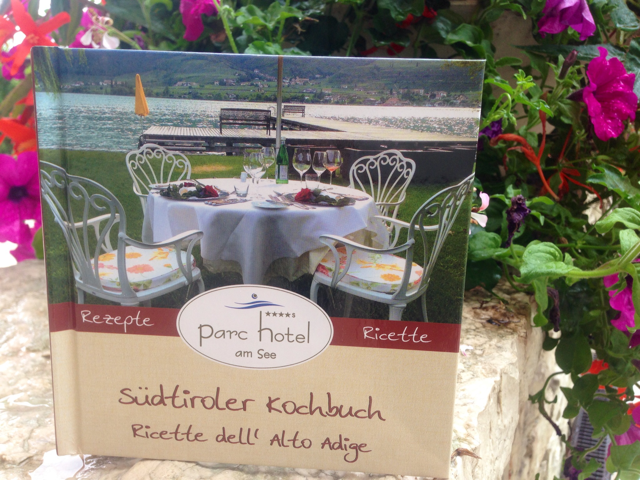 Ein Highlight ist das Parc Hotel Kochbuch