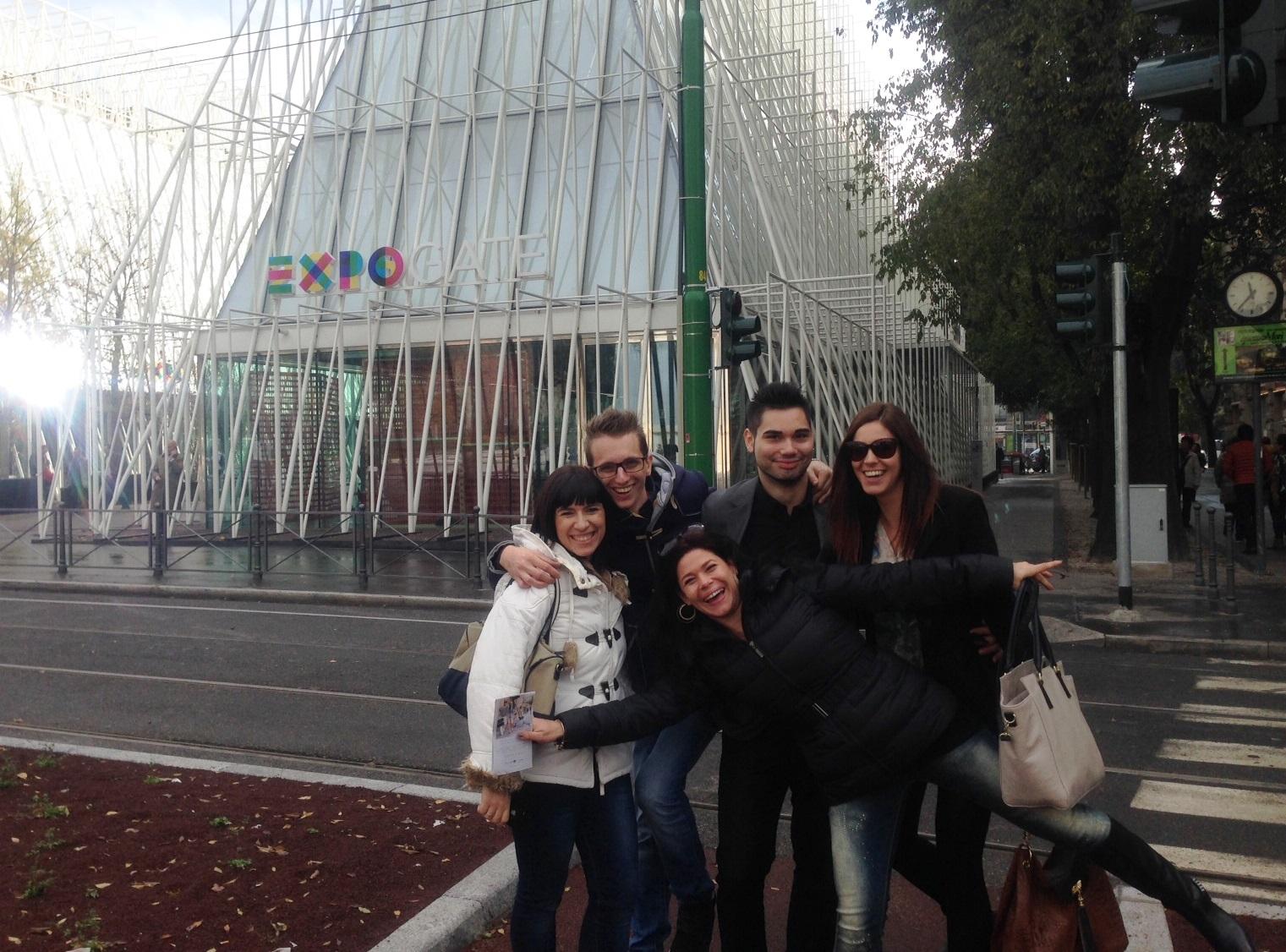 Wir geben Gas... Catherina, Axel, Michi, Franzi und Marion