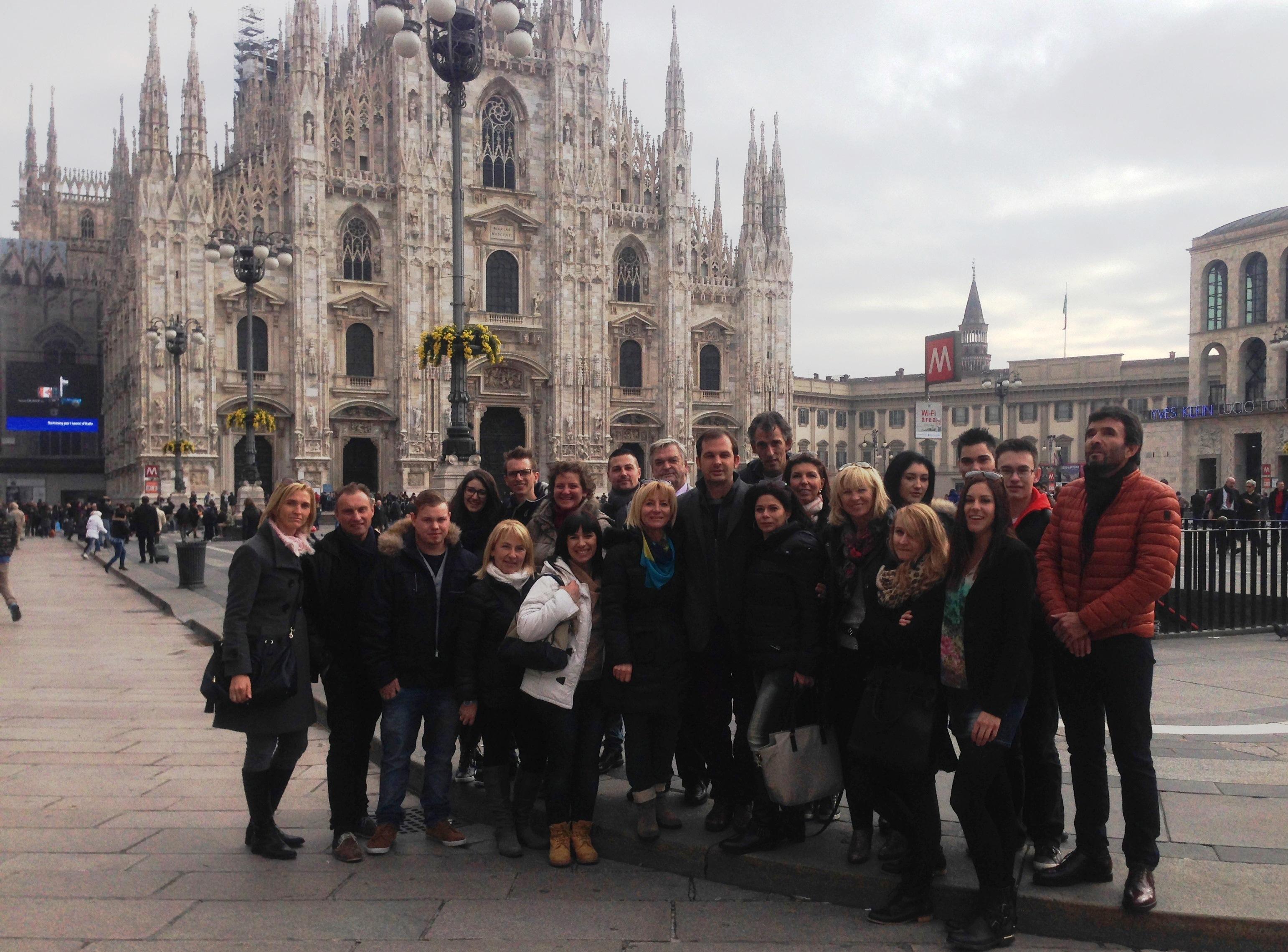 Mailänder Dom - drittgrößte Kirche der Welt,  neben Petersdom im Vatikan und der Kathedrale von Sevilla