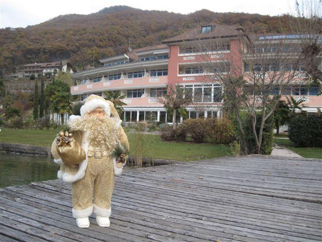Der Weihnachtsmann am Kalterer See